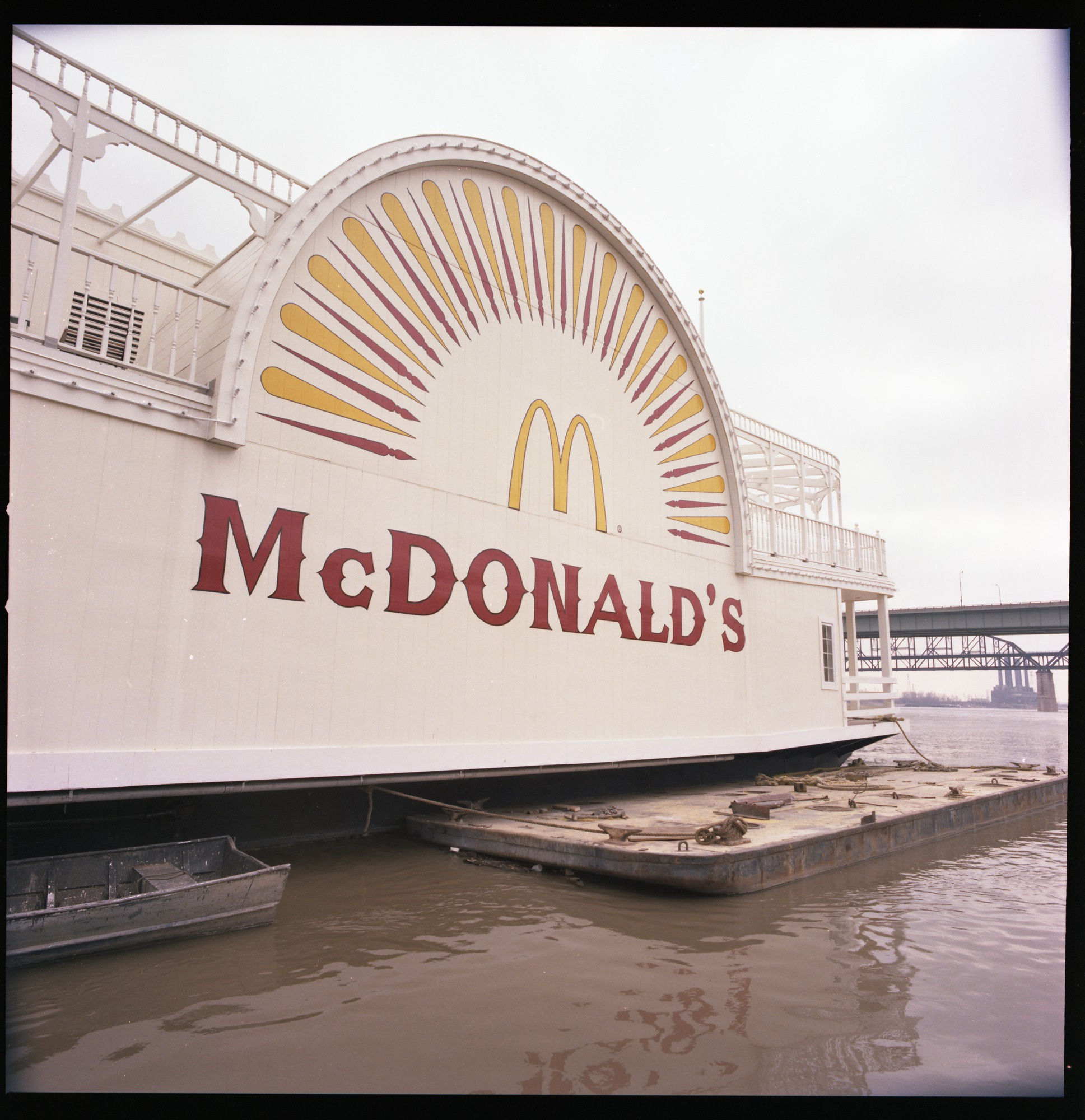 Paddlewheel Of The Mcdonald S Riverboat Restaurant On The St